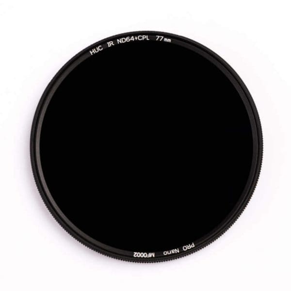 ND64+CPL Zirkular ND Polarisationsfilter (1.8) – 6 Blenden