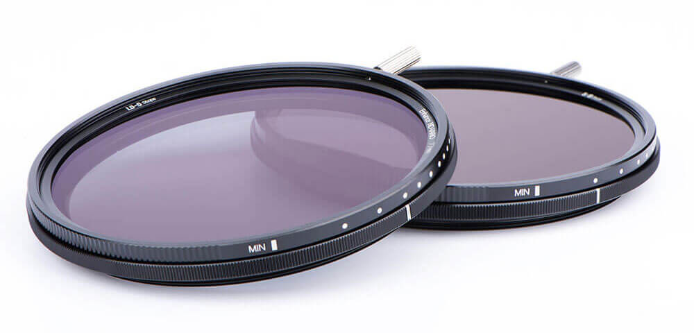 Variable NiSi ND-VARIO filters with Nano-coating in optical glass